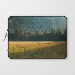 Meadow Sunset in Yosemite Laptop Sleeve