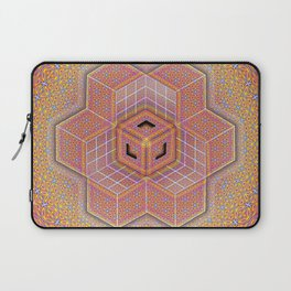 Flower of Life Tesseract Laptop Sleeve