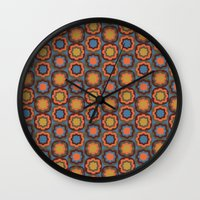 woodstock Wall Clocks featuring Take me to Woodstock by Pierrot Doll Design Studio