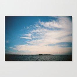 South River Sky Canvas Print