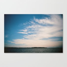 South River Sky Canvas Print