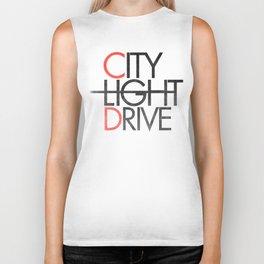 City Light Drive Biker Tank