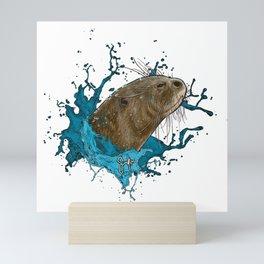 Dru Giant River Otter Mini Art Print