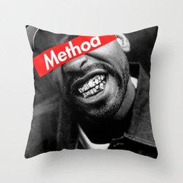 METHOD MAN WU TANG DESIGN Throw Pillow
