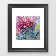 Thistle Framed Art Print