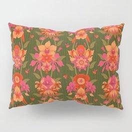 Mystic Flowers of Paradise [GREEN] Pillow Sham