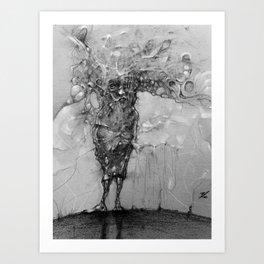 figure sketch Art Print