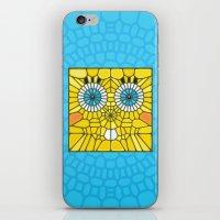 spongebob iPhone & iPod Skins featuring Spongebob Voronoi by Enrique Valles