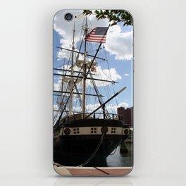 Old Glory - USS Constellation iPhone Skin