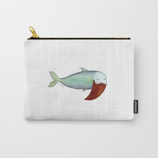fish with beard Carry-All Pouch