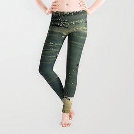 Ocean Glitter Leggings