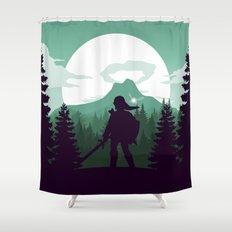 The Legend of Zelda - Green Version Shower Curtain