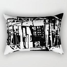 Trash City Rectangular Pillow