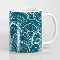 sailing Mugs featuring sailing by Pardabon