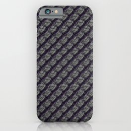 Elegant Steel Dragon Scale iPhone Case