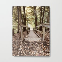 Trees, Forest  Metal Print
