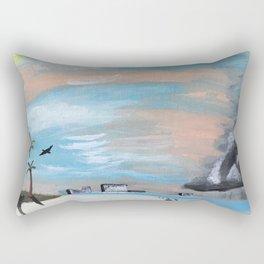 Summer Storm Rectangular Pillow
