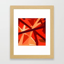 Red Fuel and Refuel Framed Art Print