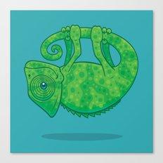 Magical Chameleon Canvas Print