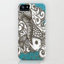 Sharpie Fish iPhone Case