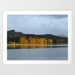 Calming Reflection Art Print