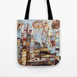 Step Lightly Tote Bag