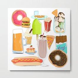 Food Stuffs Metal Print