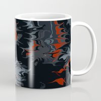 black widow Mugs featuring widow by Shea33