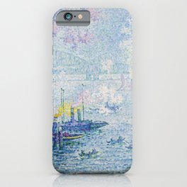 The Port of Rotterdam iPhone Case