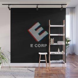 E-corp binary - mr. robot Wall Mural
