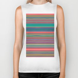 Colour Line Stripes 631 Biker Tank
