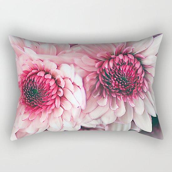 Pink asters. Rectangular Pillow