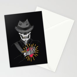 In the darkness Stationery Cards