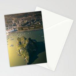 Last light of Ha Long Bay, Vietnam. Stationery Cards
