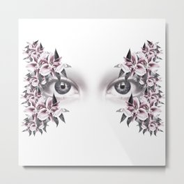 The truth is in the eye #01 Metal Print