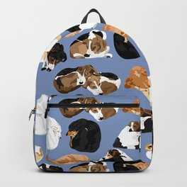 Coonie Curl Blue Backpack