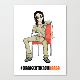 Alex Vause #OrangeisthenewManga Canvas Print