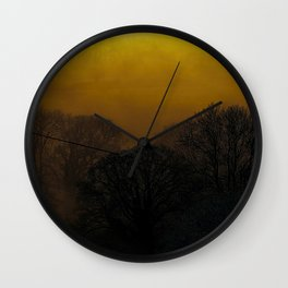 Fog 11 Wall Clock