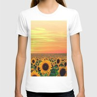 sunflower T-shirts featuring Sunflower by Don't Be A Dick