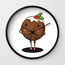 Just Pudding it Out There - Merry Christmas Wall Clock