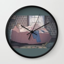Solitude  Wall Clock