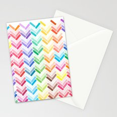 Colourful pattern Stationery Cards