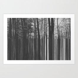 Loading nature Art Print
