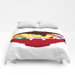 Space Odyssey Ramen | Astronaut Ramen | Bowl of Space Ramen | Galaxy in a Bowl | pulps of wood Comforters