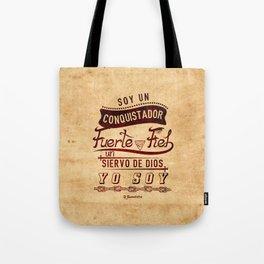 Conqui Fuerte y fiel Tote Bag