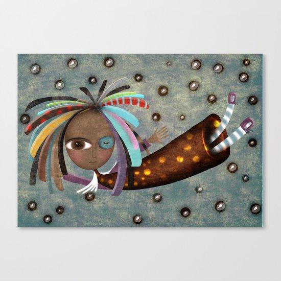 Africa Angel  Canvas Print