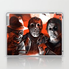 Freddy Krueger Jason Voorhees Michael Myers Super Villians Holiday Laptop & iPad Skin