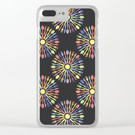 Kitchen Cutlery Colored Clear iPhone Case