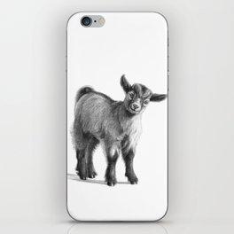 Goat baby G097 iPhone Skin