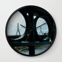 Zakim bridge Lookout Wall Clock